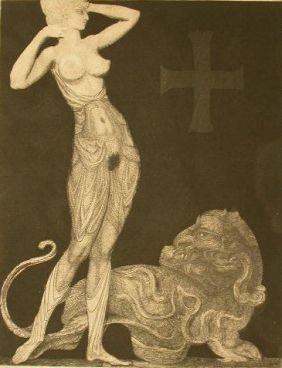 Engraving Fuchs - Genie Und Tier