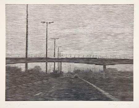 Woodcut Baumgartner - Gent