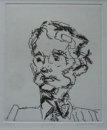 Etching Auerbach - Geoffrey
