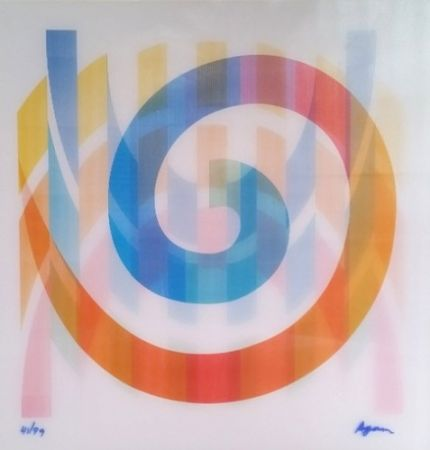 Screenprint Agam - Geometric 1 Agam