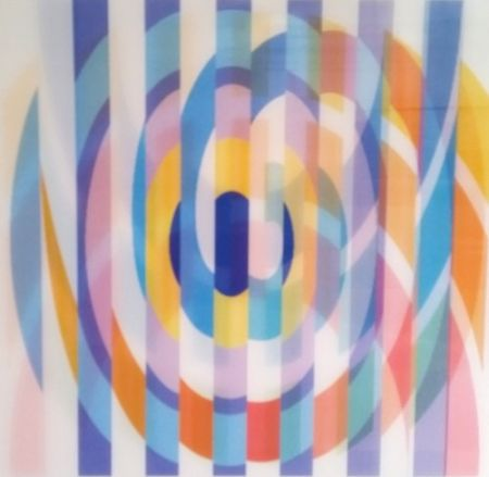 Screenprint Agam - Geometric 2 Agam