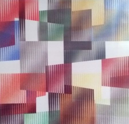 Screenprint Agam - Geometric 3 Agam
