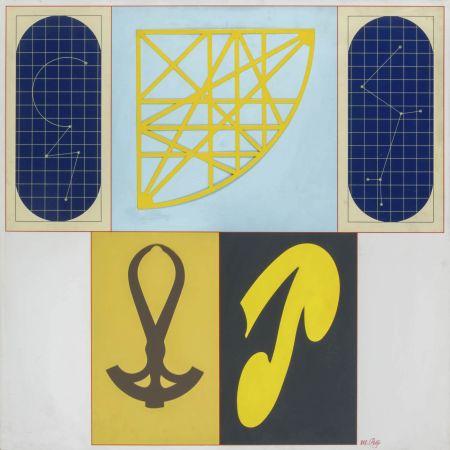 Lithograph Del Pezzo - Geometrie