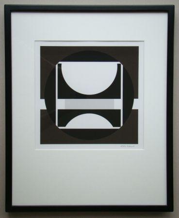 Screenprint Decock - Geometrische Abstractie