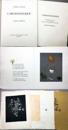 Illustrated Book Herold - Georges Bataille : L'ARCHANGÉLIQUE. Notes sur Georges Bataille par Patrick Waldberg.