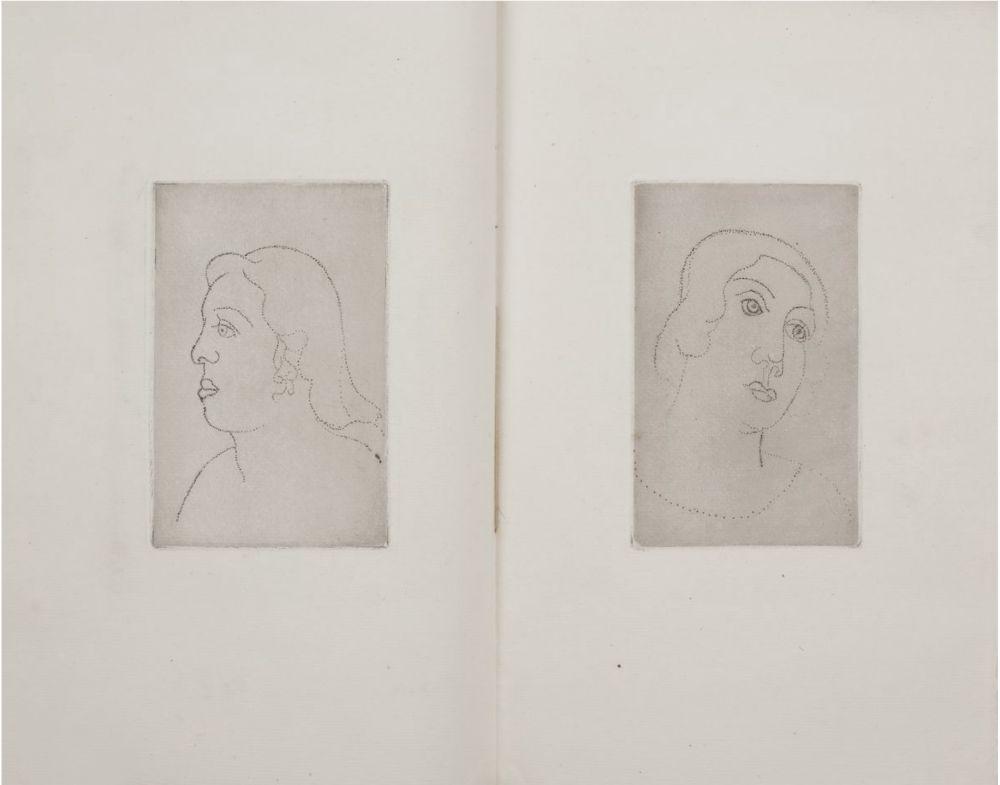 Illustrated Book Derain - Georges Gabory : LA CASSETTE DE PLOMB. Deux gravures originales et inédites par André Derain (1920)