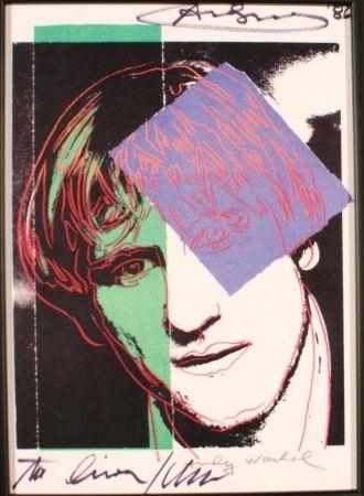 Poster Warhol - GERARD DEPARDIEU