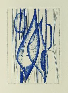 Illustrated Book Haass - Germinal.  Poème de Michel Ferrand. Gravures de Terry Haass.