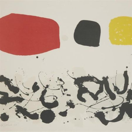 Lithograph Gottlieb - Germination III
