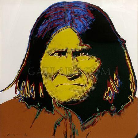 Screenprint Warhol - Geronimo Fs Ii.384