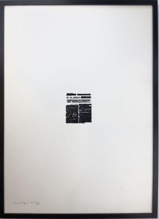 Screenprint Isgro - GIACEVANO IN UN MARE