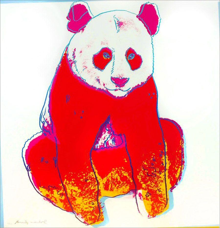Screenprint Warhol - Giant Panda FS II.295