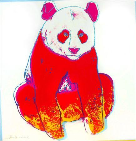 Screenprint Warhol -  Giant Panda (FS II.295)