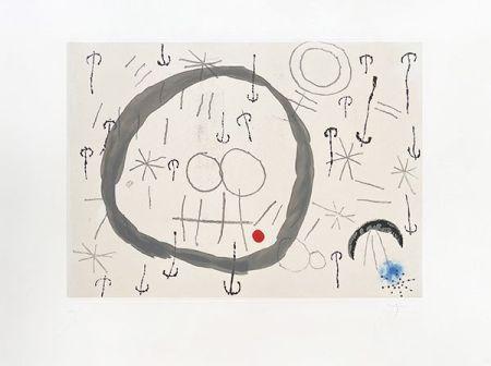 Etching Miró - Giboulées