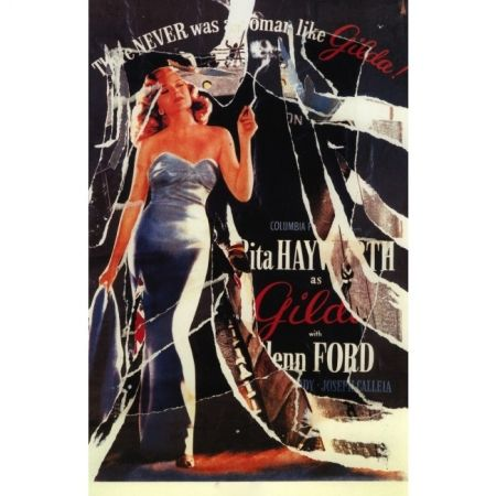 Poster Rotella - Gilda