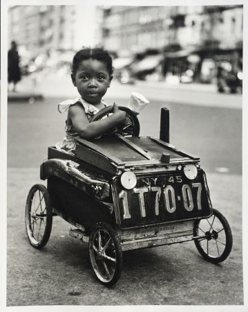 Photography Stein - Girl in Car, New York