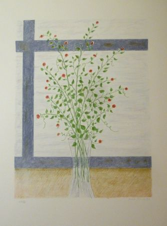 Lithograph Girona - GIRO Y FINESTRA