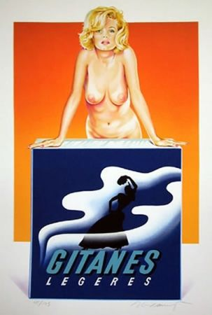 Screenprint Ramos - Gitanes
