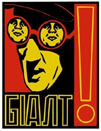 Screenprint Fairey - Glasses