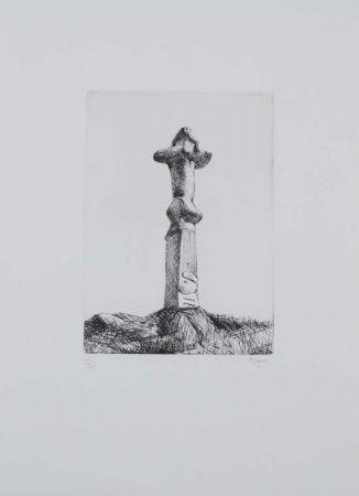 Engraving Moore - Glenkiln Cross