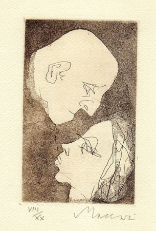 Illustrated Book Maccari - Gli addii