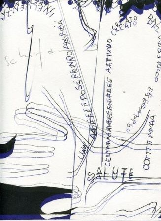 Engraving Schifano - Gli incontri della quercia