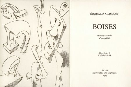 Illustrated Book Cardenas - GLISSANT (Édouard). Boises. Histoire naturelle d'une aridité.