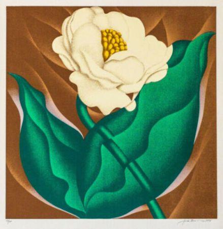 Screenprint Brusca - Globe Flower