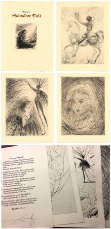 Illustrated Book Dali - GOETHE : FAUST. 21 gravures (ex. avec suite supplémentaire) 1969.