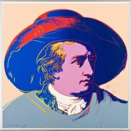Screenprint Warhol - Goethe FS II.273