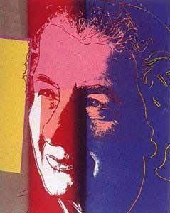 Screenprint Warhol - Golda Meir