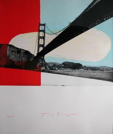 Lithograph Soulie - GOLDEN GATE lithographie de Tony SOULIE
