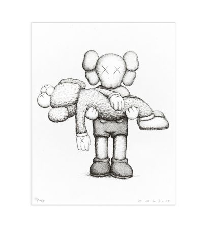 Screenprint Kaws - Gone