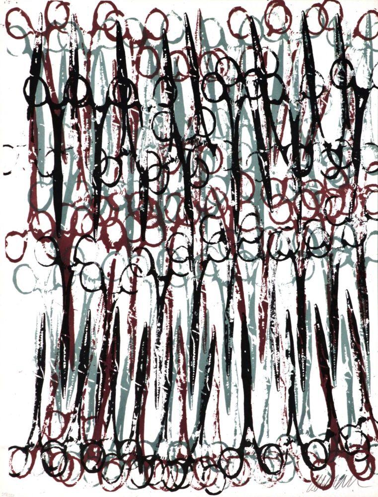 Lithograph Arman - Gothic