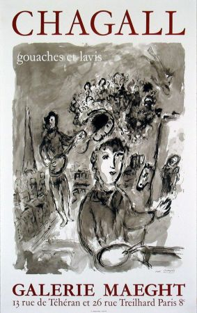 Poster Chagall -