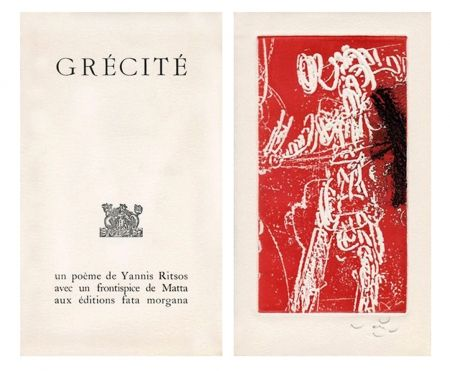Illustrated Book Matta - Grécité