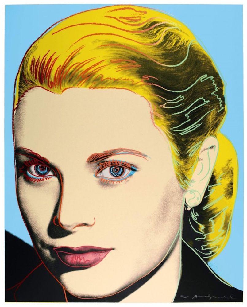 Screenprint Warhol - Grace Kelly (FS II.305)