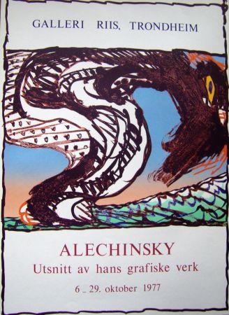 Poster Alechinsky - Grafiske verk