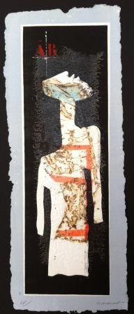 Etching Coignard - Grand mannequin debout