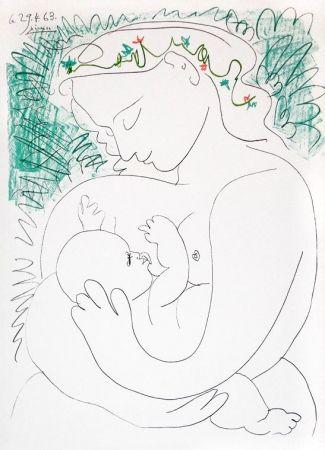 Lithograph Picasso - Grande Maternité