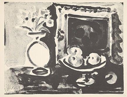 Lithograph Picasso -