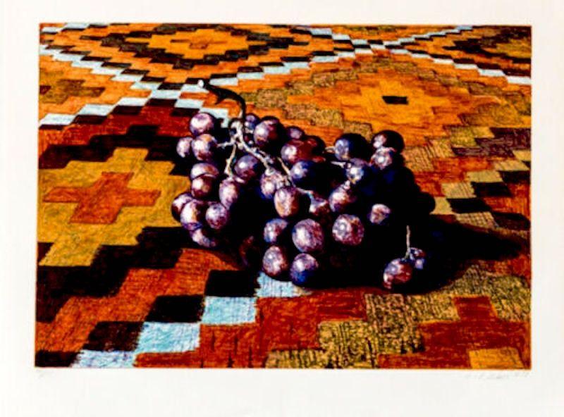 Screenprint Nesbitt - Grapes