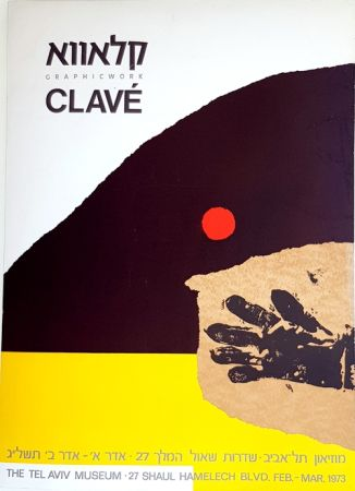 Lithograph Clavé - Graphicwork The Tel Aviv Museum