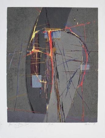 Woodcut Olschewski - Grau in Grau / Gray in Gray