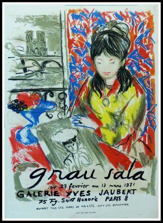 Poster Grau Sala - GRAU SALA GALERIE YVES JAUBERT