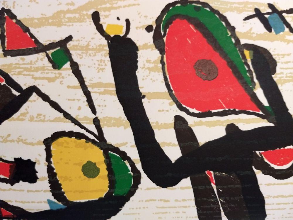 Illustrated Book Miró - Graveur 3