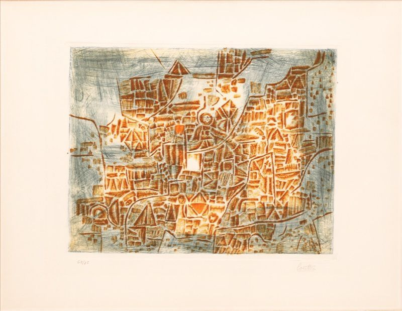 Etching Louttre - Gravure