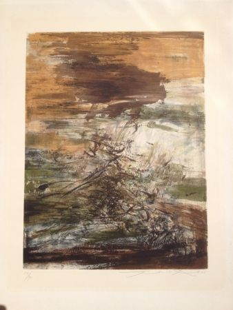 Etching And Aquatint Zao - Gravure 160