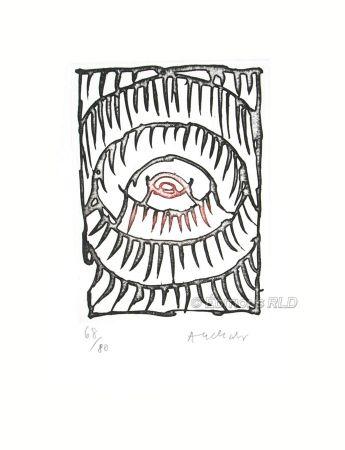 Engraving Alechinsky - Gravure