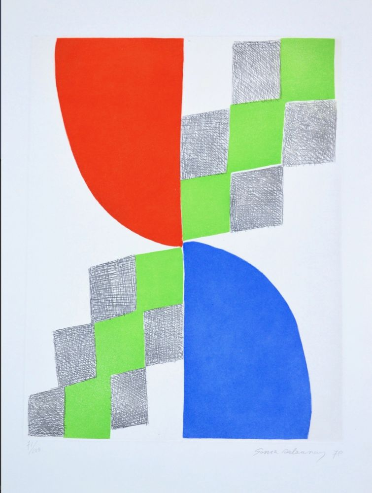 Etching Delaunay - Gravure I